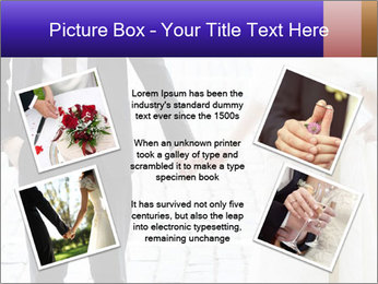 Bride and groom PowerPoint Templates - Slide 24