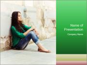 Young girl PowerPoint Templates