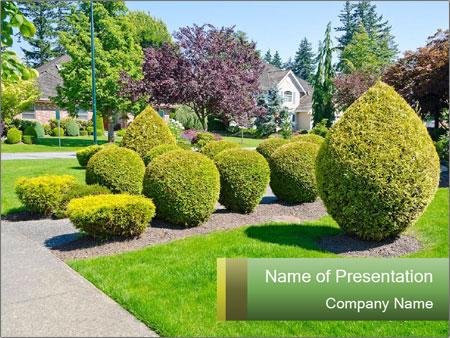 Landscape design PowerPoint Template