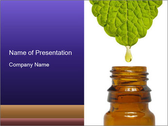 Fluid drop PowerPoint Templates - Slide 1