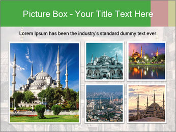 Famous Blue Mosque in Istanbul PowerPoint Templates - Slide 19
