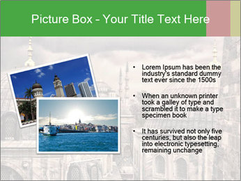 Famous Blue Mosque in Istanbul PowerPoint Templates - Slide 20