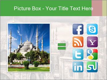 Famous Blue Mosque in Istanbul PowerPoint Templates - Slide 21