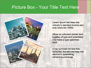 Famous Blue Mosque in Istanbul PowerPoint Templates - Slide 23