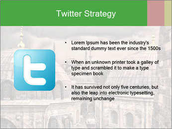 Famous Blue Mosque in Istanbul PowerPoint Templates - Slide 9
