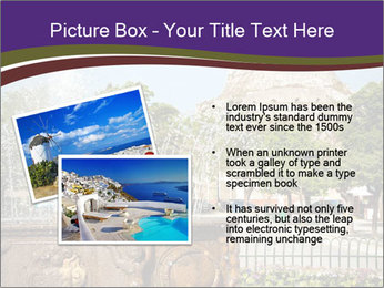 Fountain in center PowerPoint Template - Slide 20