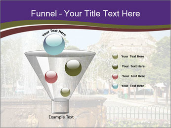 Fountain in center PowerPoint Template - Slide 63