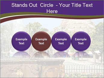 Fountain in center PowerPoint Template - Slide 76