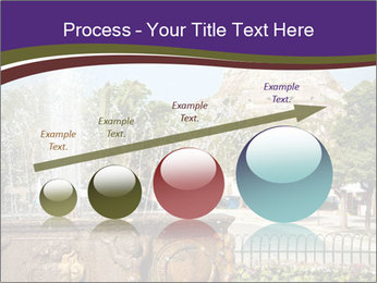 Fountain in center PowerPoint Template - Slide 87