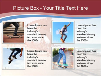 Silhouette of Skateboarder PowerPoint Templates - Slide 14