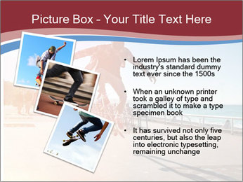 Silhouette of Skateboarder PowerPoint Templates - Slide 17