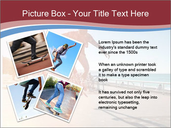 Silhouette of Skateboarder PowerPoint Templates - Slide 23