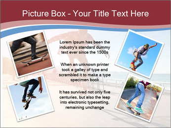 Silhouette of Skateboarder PowerPoint Templates - Slide 24