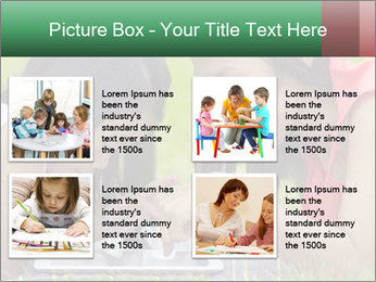 Mon and baby PowerPoint Template - Slide 14