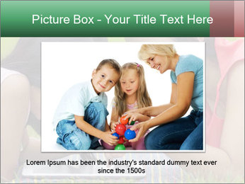 Mon and baby PowerPoint Template - Slide 16