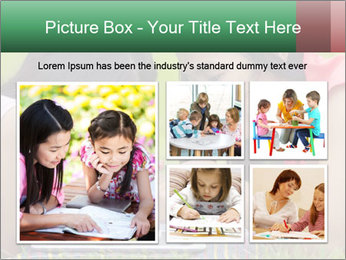 Mon and baby PowerPoint Template - Slide 19