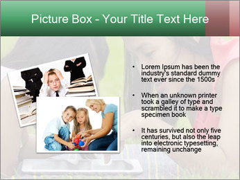 Mon and baby PowerPoint Template - Slide 20