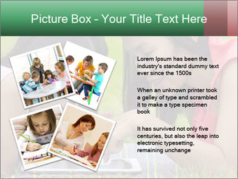 Mon and baby PowerPoint Template - Slide 23