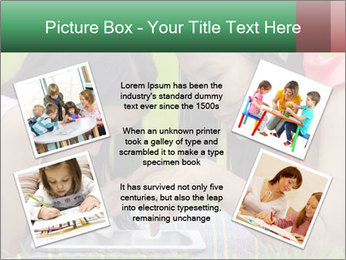 Mon and baby PowerPoint Template - Slide 24