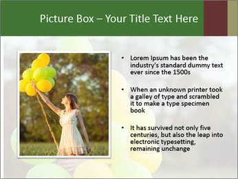 Young beautiful girl PowerPoint Templates - Slide 13