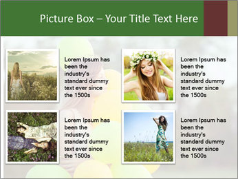 Young beautiful girl PowerPoint Templates - Slide 14