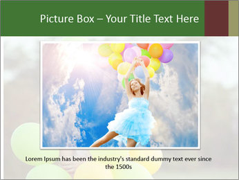 Young beautiful girl PowerPoint Templates - Slide 15