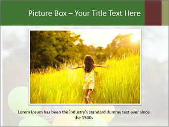 Young beautiful girl PowerPoint Templates - Slide 16