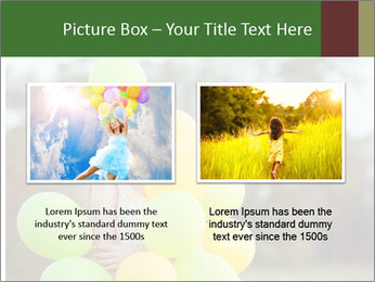 Young beautiful girl PowerPoint Templates - Slide 18