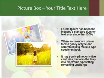Young beautiful girl PowerPoint Templates - Slide 20