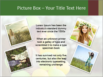Young beautiful girl PowerPoint Templates - Slide 24
