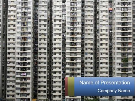 Apartment Block PowerPoint Templates