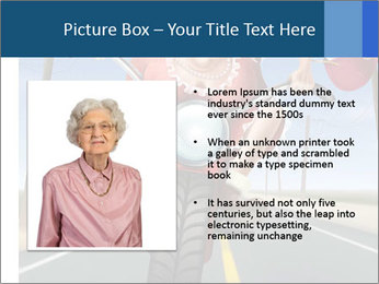Funny mad granny PowerPoint Template - Slide 13
