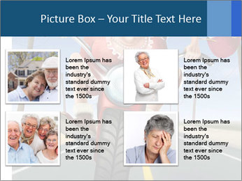 Funny mad granny PowerPoint Template - Slide 14