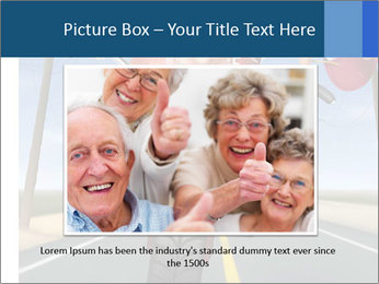 Funny mad granny PowerPoint Template - Slide 15