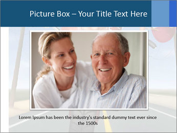 Funny mad granny PowerPoint Template - Slide 16