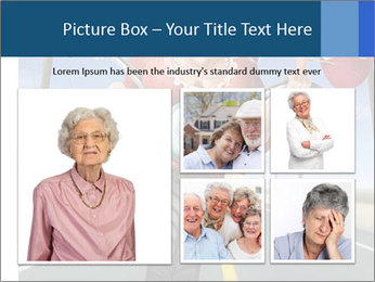 Funny mad granny PowerPoint Template - Slide 19