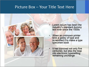 Funny mad granny PowerPoint Template - Slide 20