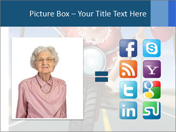 Funny mad granny PowerPoint Template - Slide 21