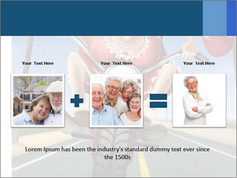 Funny mad granny PowerPoint Template - Slide 22