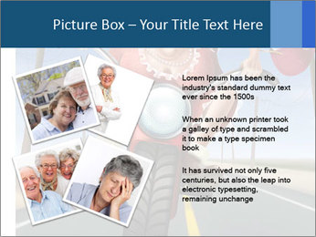 Funny mad granny PowerPoint Template - Slide 23