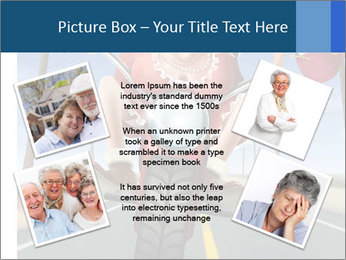 Funny mad granny PowerPoint Template - Slide 24