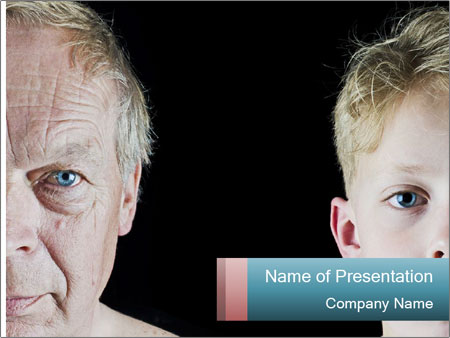 Getting older PowerPoint Template