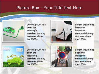 Electric car PowerPoint Template - Slide 14