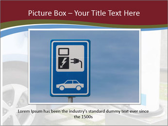 Electric car PowerPoint Template - Slide 16