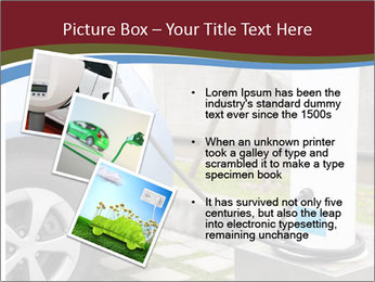 Electric car PowerPoint Template - Slide 17