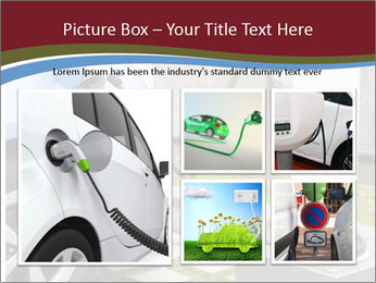 Electric car PowerPoint Template - Slide 19