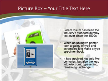 Electric car PowerPoint Template - Slide 20