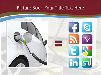 Electric car PowerPoint Template - Slide 21