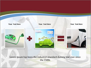 Electric car PowerPoint Template - Slide 22