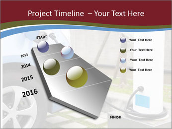 Electric car PowerPoint Templates - Slide 26